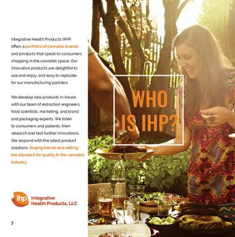 IHP Brochure Design