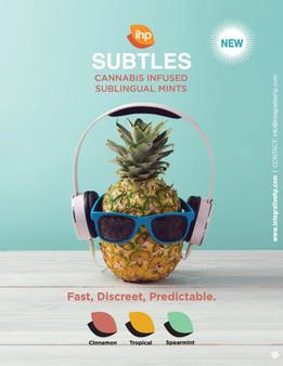 Poster for Subtles Infused Mints