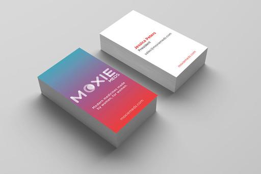 MoxieMeds Brand Identity