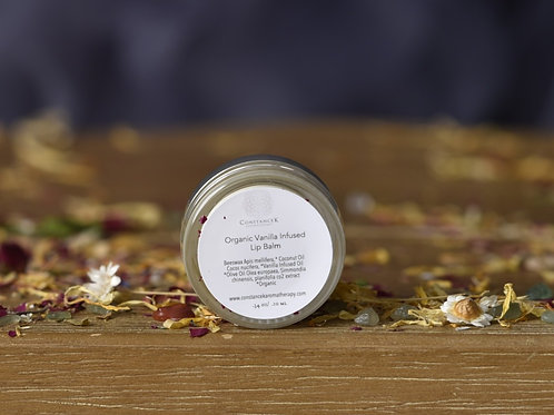 "Vanilla Infused Lip Balm ""Organic"""