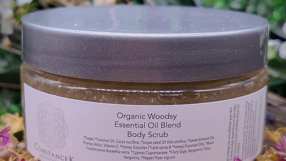 Body Scrub Woodsy Organic