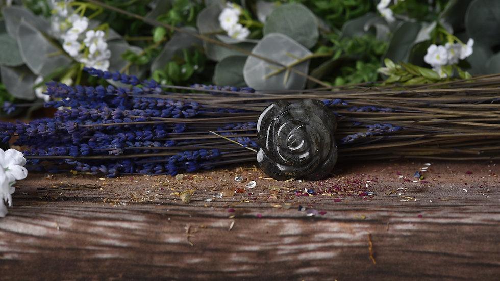 """Labradorite Rose Flower """" Larger Size"""""""