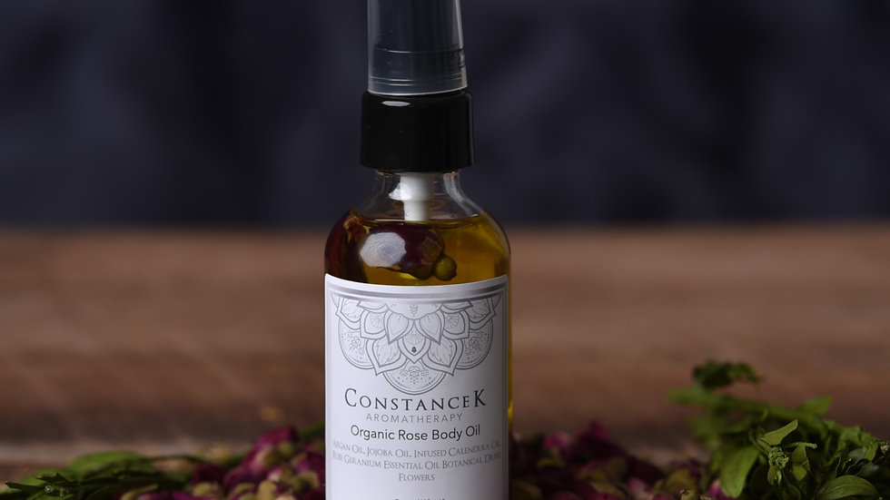 """Body Oil - Rose Geranium """"Organic"""""""