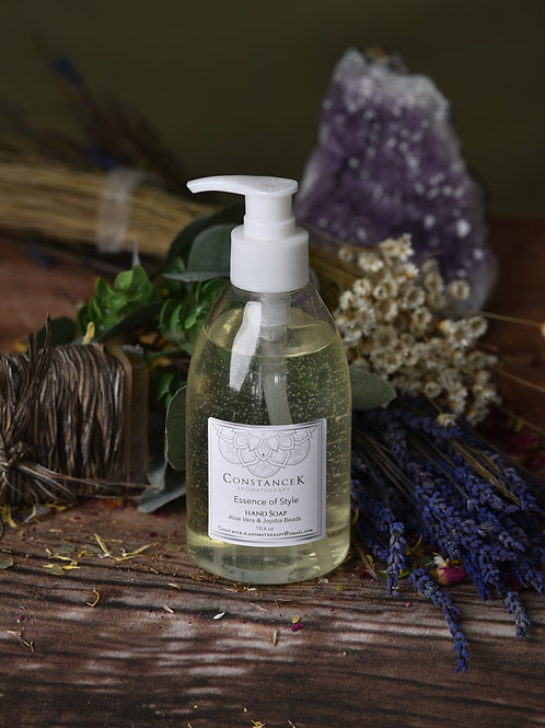 Essence of Style Hand Soap with Aloe Vera & Jojoba Beads