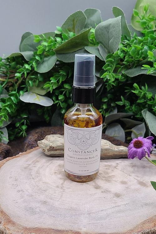"Body Oil Lavender ""Organic"""