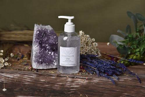 Lilac Hand Soap with Aloe Vera & Jojoba Beads