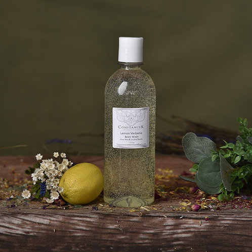 Lemon Verbena Body Soap with Aloe Vera & Jojoba Beads