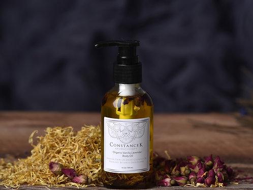 """Body Oil - Vanilla Lavender""""Organic"""""""