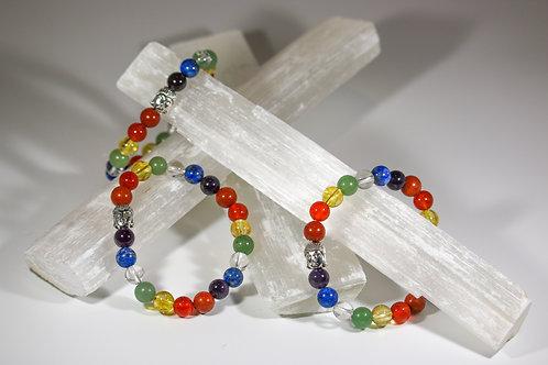 "7 Chakra Bracelet ""Repeat"""