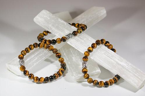 Tiger Eye Buda Bracelet