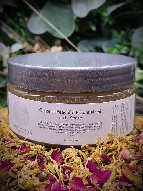 Body Scrub - Peaceful Organic