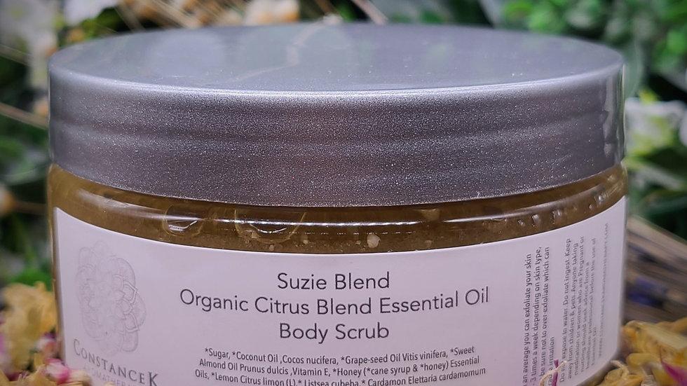 Body Scrub Citrus Organic