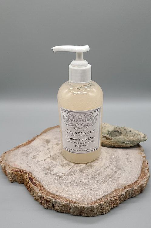 Clementine & Mint Aloe Vera Hand Soap