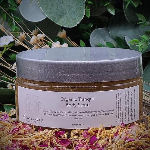 Body Scrub Tranquil Organic