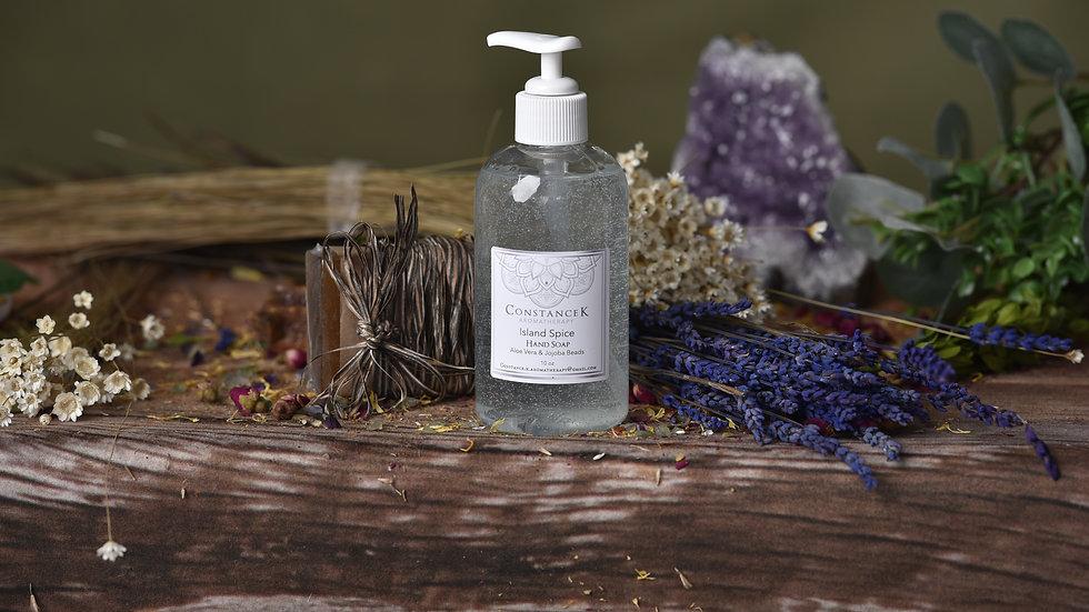 Island Spice Hand Soap with Aloe Vera & Jojoba Beads