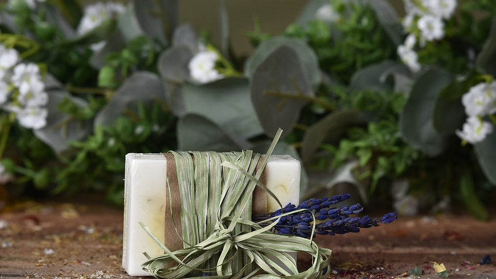 Calendula and Lavender Goat Milk Soap