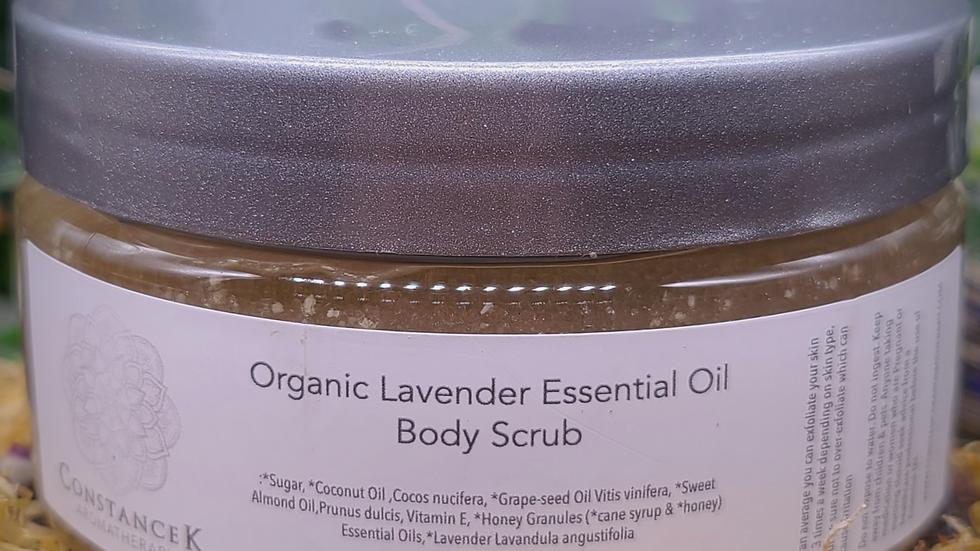 Body Scrub Lavender Organic
