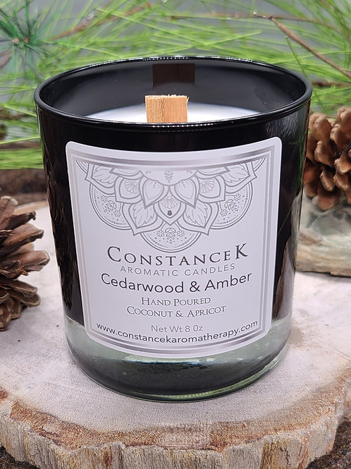 Cedarwood & Amber Candle