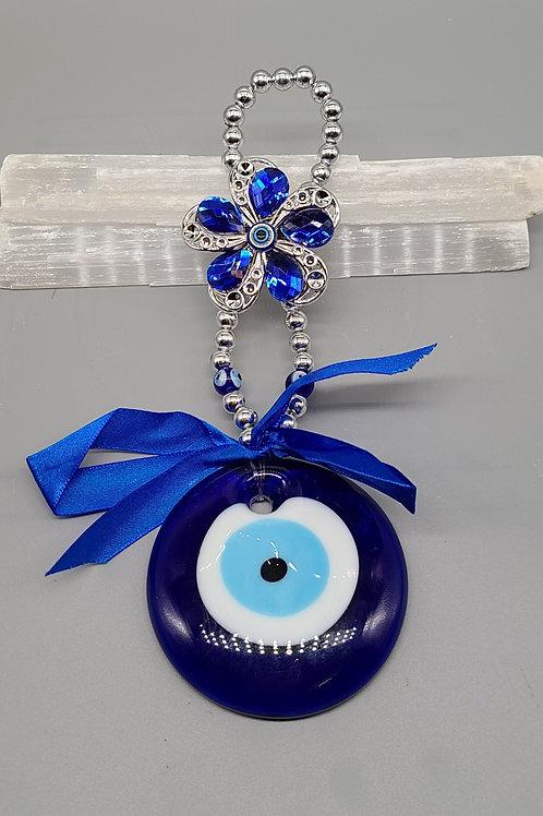 Evil Eye Flower Hanging Pendant