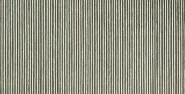 Wallpaper Modern Metallic Foil Textured Ribbed Silver and Cream Stripe