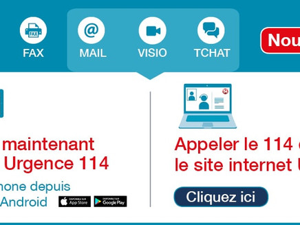 Le 114 a enfin son application !