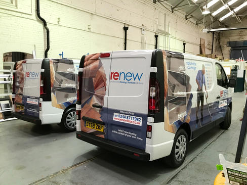 Renew Fleet Wraps