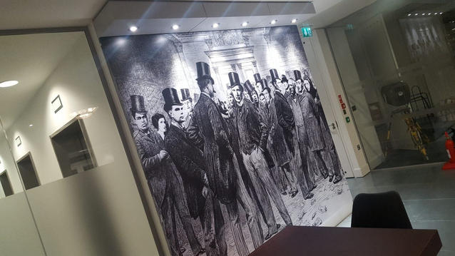 Printed Glass Panels