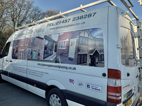 Glossop Glass & Glazing Wrap