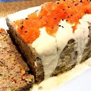 Lamb Bake with Tahini and Tomato Sauce