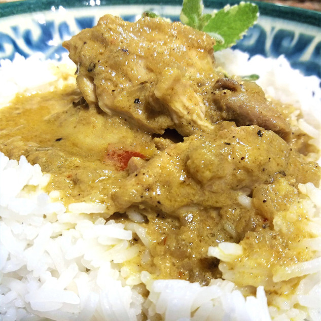 Fast and Fragrant Thai Chicken Curry