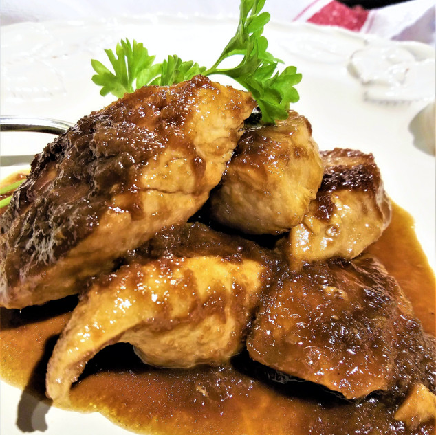 Speedy Glazed Balsamic & Ginger Chicken