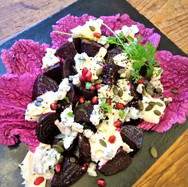 Beetroot and Stilton Salad