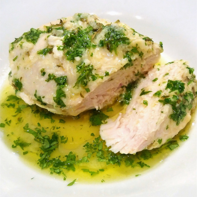 Buttery Garlic Chicken with Lemon, Parle