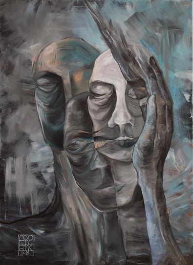Acrylics on canvas, 50x70cm