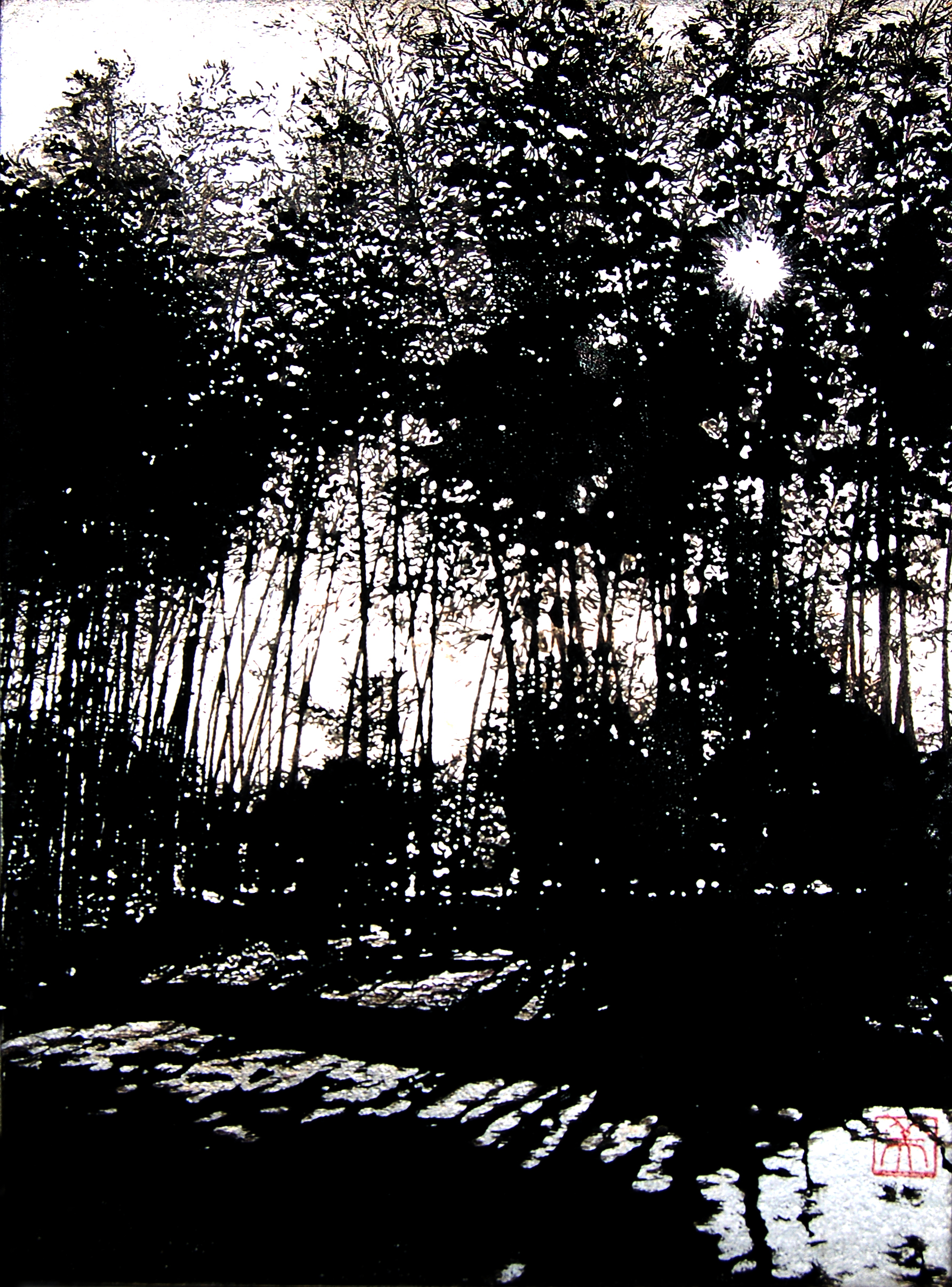 Tree VII-Bamboo