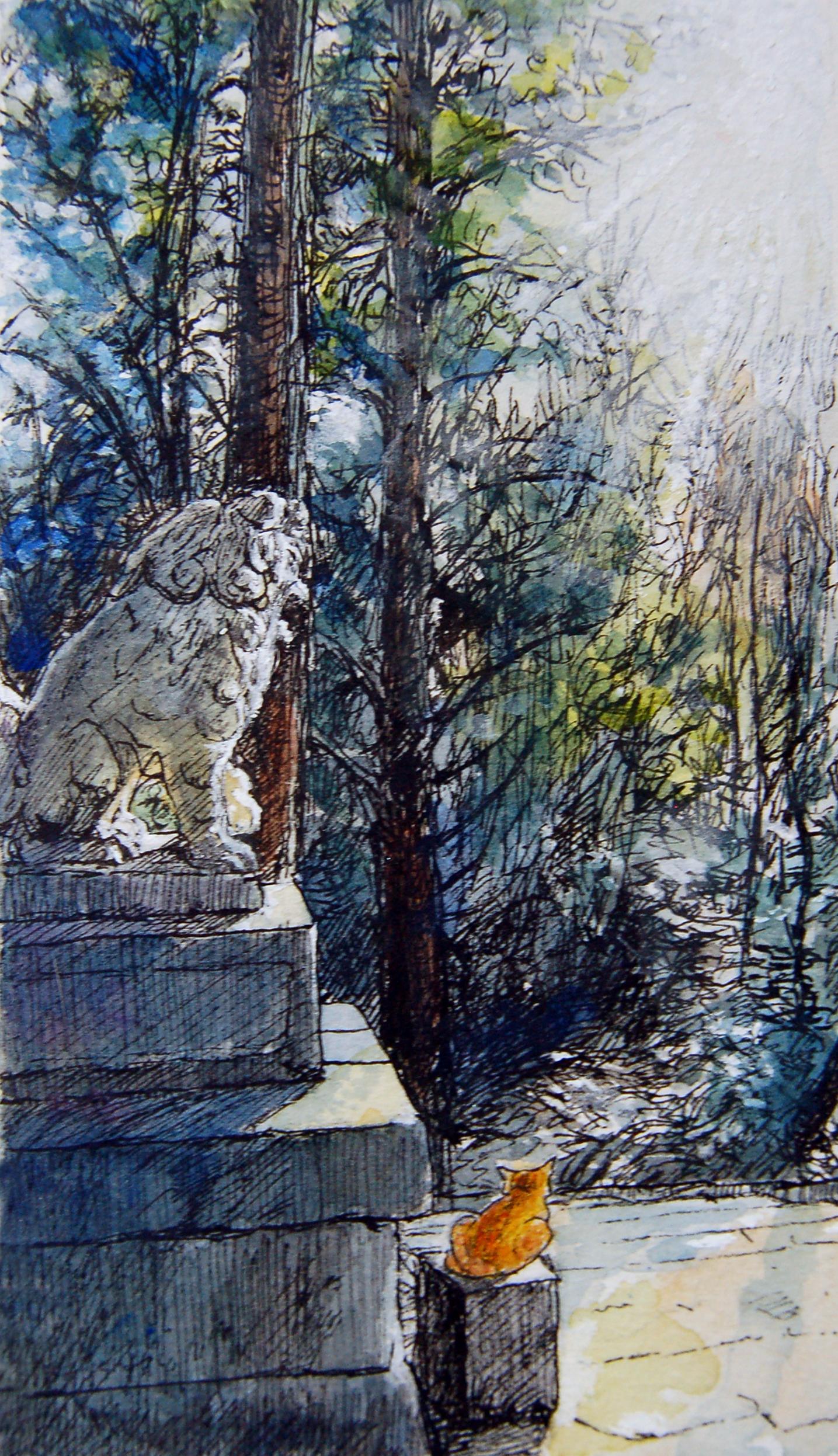猫と神様のいるところー須賀神社  Suga Shrine