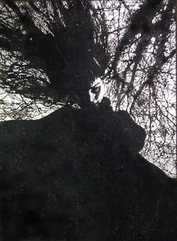 Tree II (winter witch)