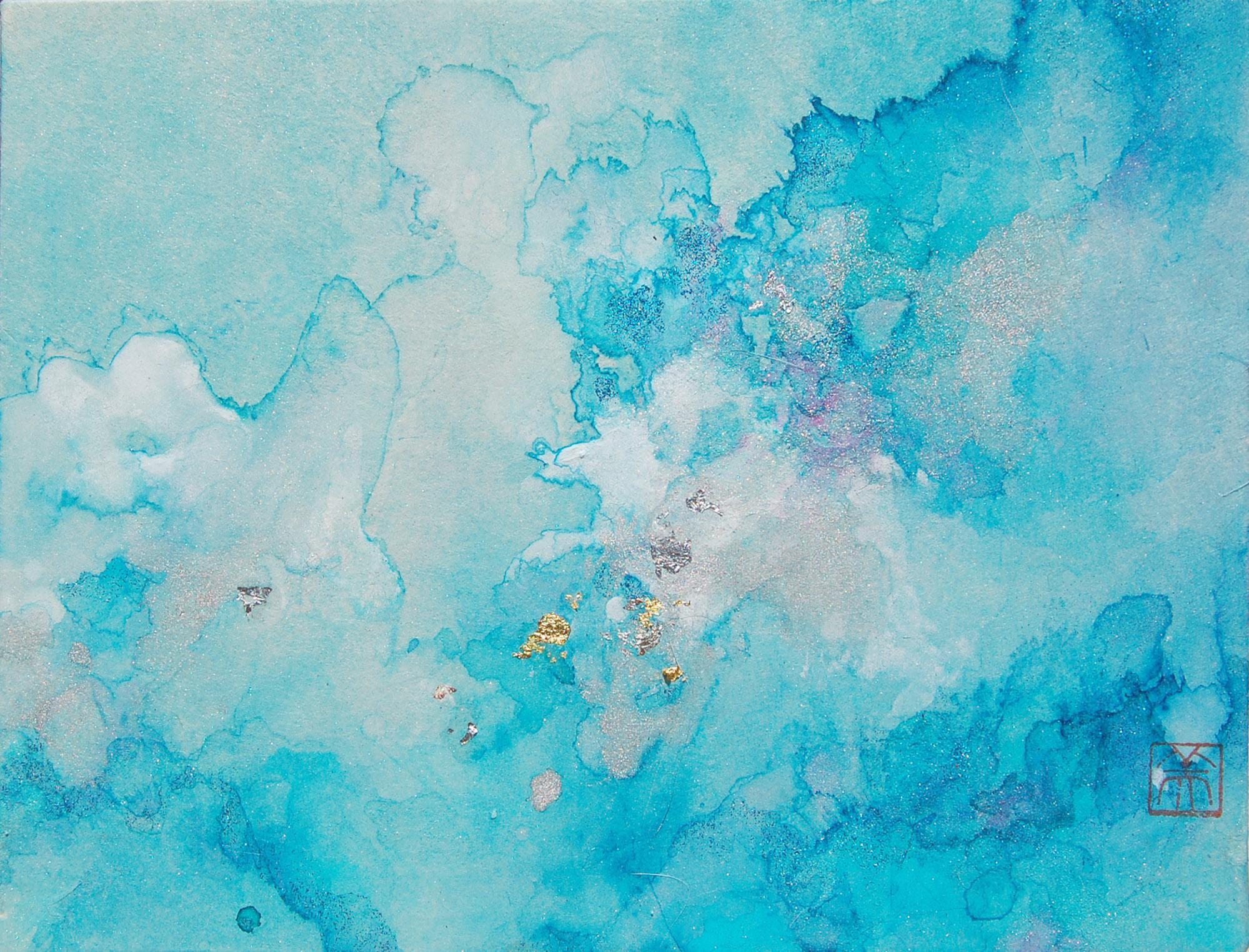 """""""LIFE XLVI (46) - BLUE"""""""