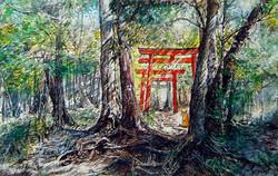猫と神様のいるところー豊鹿島神社 Toyokashima Shrine