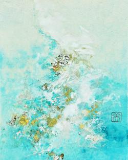 Minako Yamano-LIFE LXXIII (73)-Blue-2021