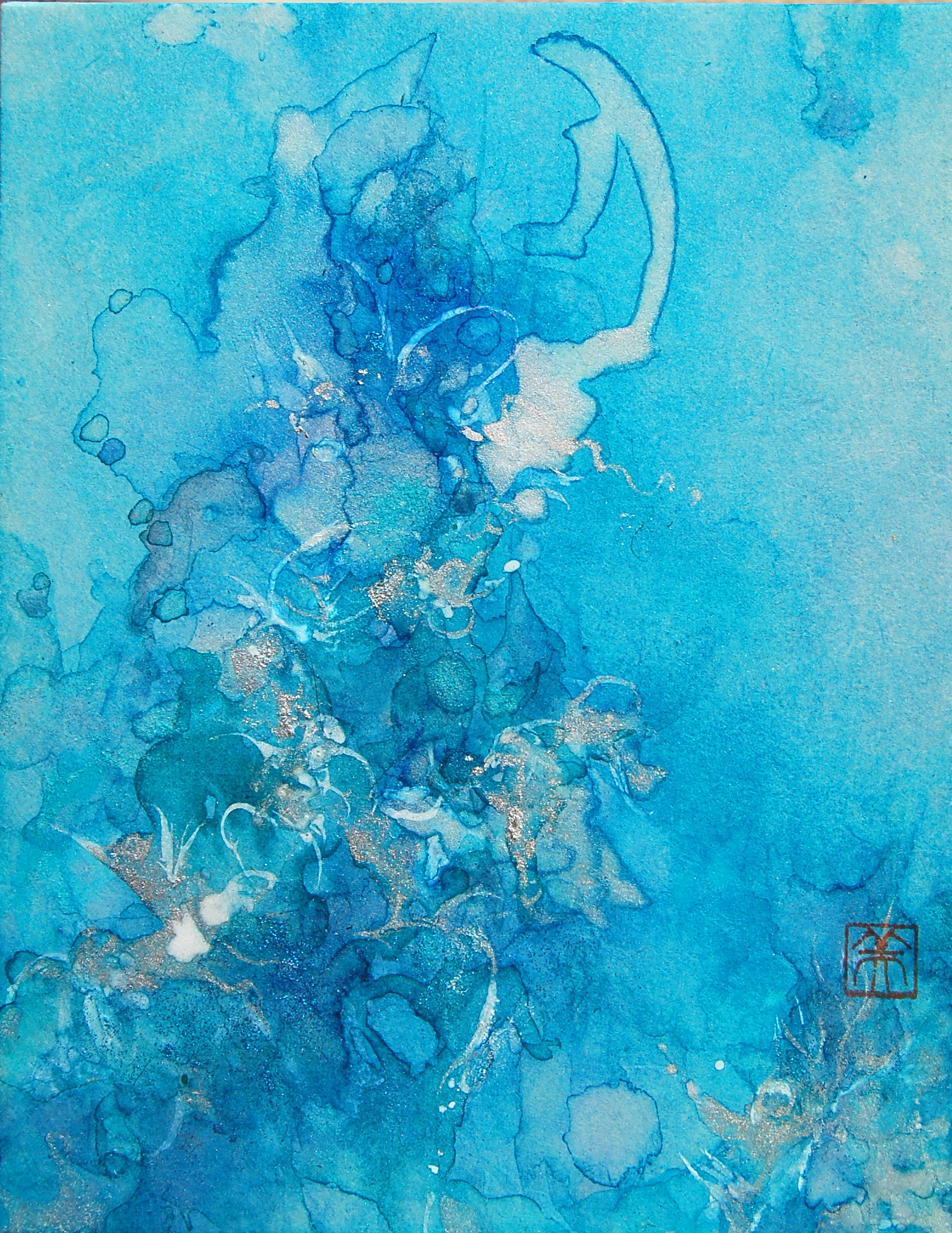 """LIFE XLVIII (48) - BLUE"""
