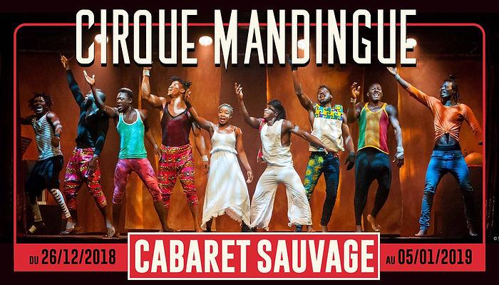 Cirque Mandingue affiche mise en scène Régis Truhcy