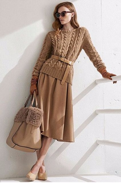 Great Way To Wear Neutrals