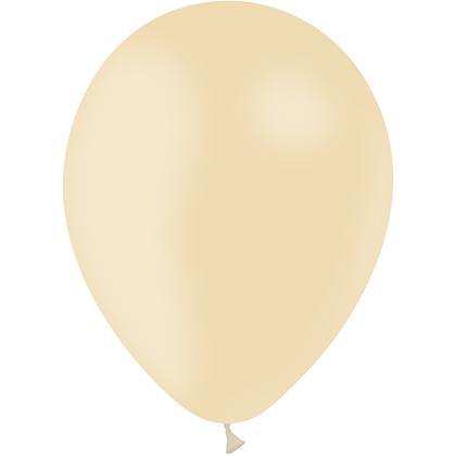 """Ballon Latex Ivoire, 11"""" (28 cm) - Balloonia"""