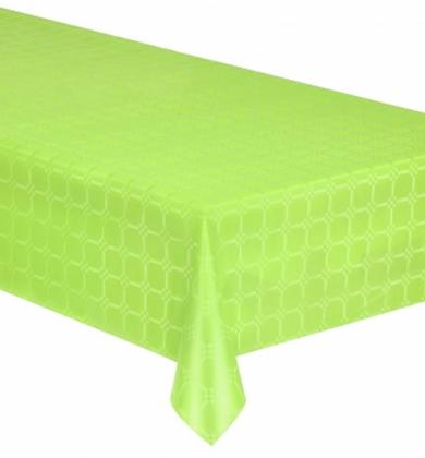 Nappe en rouleau papier damassé vert 6 mètres