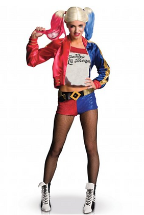 Déguisement luxe Harley Quinn Suicide Squad™ femme