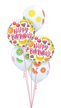 "Ballons CLASSIC ""Fruits Bday"""