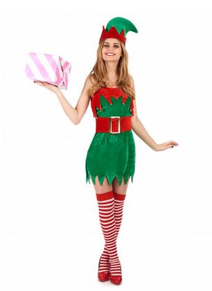 Déguisement Elfe sexy femme Noël