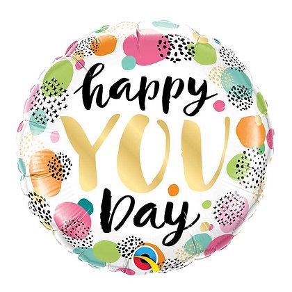 Ballon Aluminium 18″ Happy You Day – Qualatex