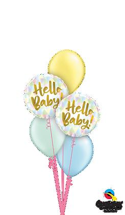 "Ballons CLASSIC ""Hello Baby"""